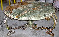 Мраморный столик под заказ
