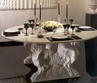 Кавовий столик з граніту та мармуру, фото 1