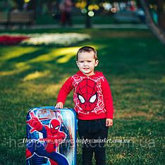 Чемодан детский дорожный качество Эконом для путешествий с кодовым замком 52 см Человек паук 1881-4