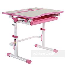 Зростаюча парта для дівчинки FunDesk Lavoro L Pink