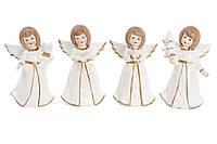Декоративная фарфоровая фигурка Ангел 4 вида, 13см