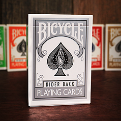 Карты игральные | Bicycle Silver Playing Cards by US Playing Cards