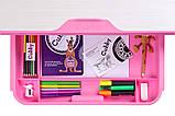Зростаюча дитяча парта зі стільчиком Cubby Lupin Pink, фото 7