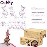 Зростаюча дитяча парта зі стільчиком Cubby Lupin Purple, фото 10
