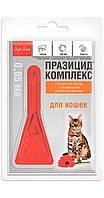 """Комплексный препарат для кошек """"Празицид комплекс"""" 0,85мл, Api-San™"""