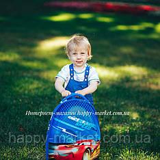 Чемоданы детские стандарт овальный  для мальчика 2 колеса  Josepf Ottenn Тачка-42 см  0378-4