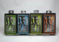 Наушники вакуумные Adidas AQ-268 Зеленые с микрофоном, гарнитура Adidas, наушники-вкладыши с микрофоном