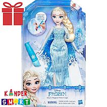 Кукла Эльза с волшебной кисточкой Disney, Hasbro