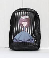 Рюкзак из эко кожи с принцессой., фото 3