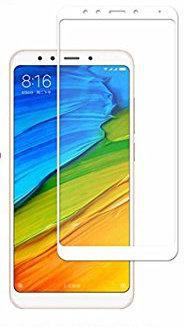 Защитное стекло 5D для  Xiaomi Redmi Note 5   (White)