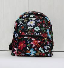 Красивый модный и практичный рюкзак в интересный принт, фото 3