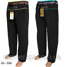 Спортивные штаны женские модные батал размер XL-5XL купить оптом со склада 7км Одесса