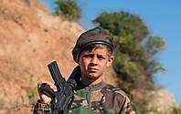 Берет военный камуфляж DPM универсальный