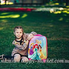 Чемодан детский дорожный качество Эконом ручная кладь 44 см детский  дорожный Josepf Ottenn Принцесса 0486-5