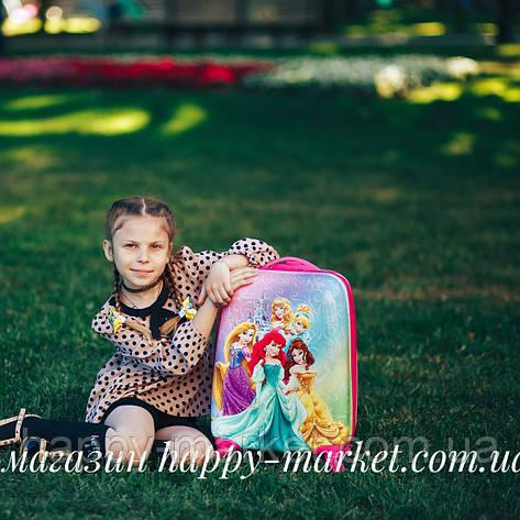 Чемоданы детские стандарт ручная кладь 44 см Josepf Ottenn Принцесса 0486-5\1609, фото 2