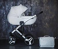 Дитяча коляска 2 в 1 Junama Enzo White Ecco 01