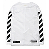 Свитшот OFF WHITE Fleece Logo Белая , фото 2