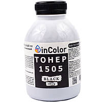 Тонер inColor для HP LJ 1005/1505, Canon LBP-2900/3000, 100 г,  черный (t1505100)