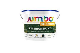 Краска фасадная Jumbo Silicone, Smile