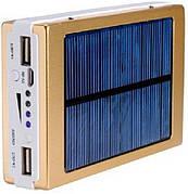 Внешний аккумулятор 40000MAH c LED Power bank SOLAR BIG - Золотой