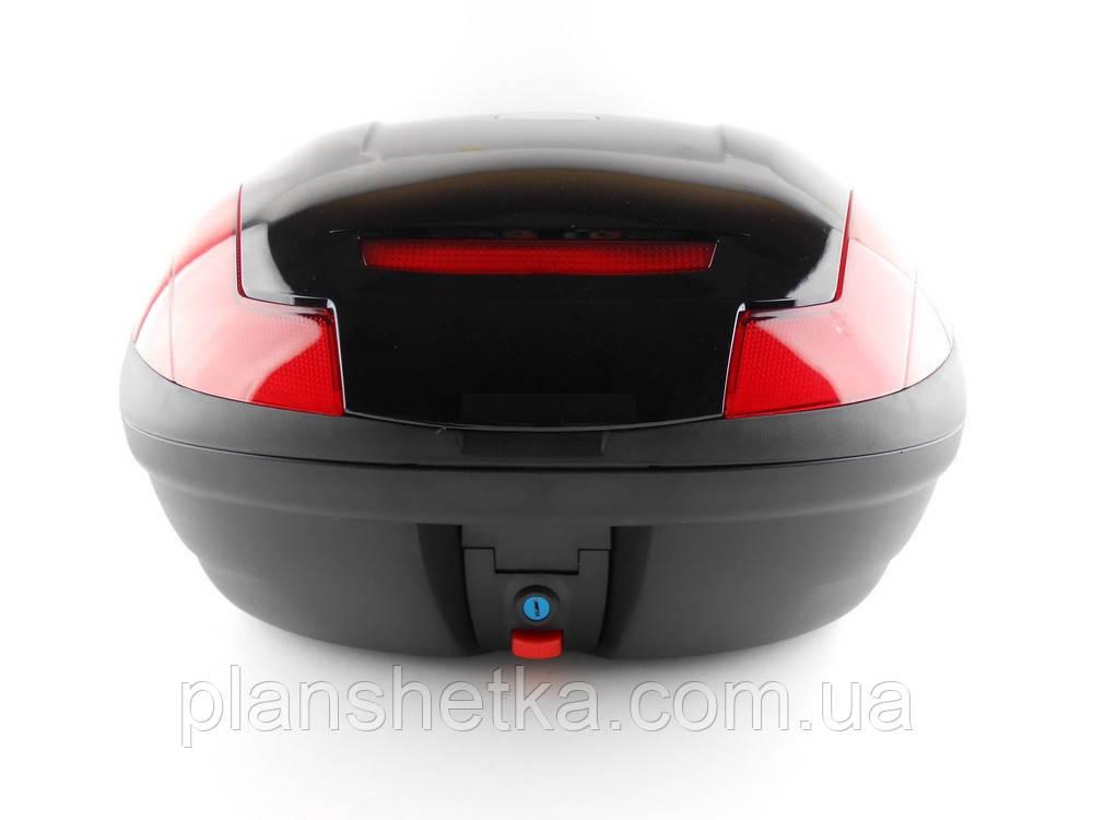 Кофр для скутера мотоцыкла HF 882 на два шолома