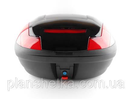 Кофр для скутера мотоцыкла HF 882 на два шолома, фото 2