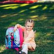 Валіза дитячий дорожній якість Люкс ручна поклажа Josepf Ottenn Холодне серце 11961-2 двосторонній, фото 2