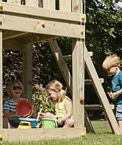Детская игровая площадка Blue Rabbit KIOSK, домик с горкой, фото 3