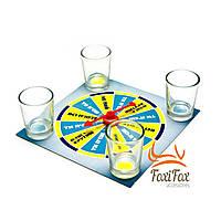 Настольная игра с рюмками крути и пей