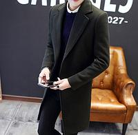 Чоловіче весняне пальто. Стильне пальто. Модель 1814, фото 3