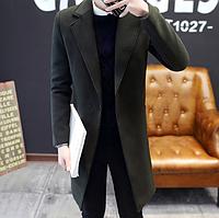 Чоловіче весняне пальто. Стильне пальто. Модель 1814, фото 4