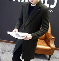 Чоловіче весняне пальто. Стильне пальто. Модель 1814, фото 5