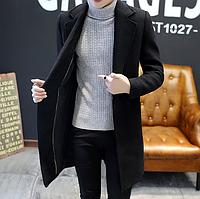 Чоловіче весняне пальто. Стильне пальто. Модель 1814, фото 8