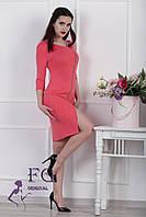 "Платье на молнии ""Беатрис"". Распродажа модели коралл, 42"