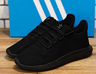 Кроссовки мужские Adidas Tubular Shadow Knit 30894 адидас черные Реплика