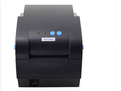 Xprinter XP-365B термопринтер этикеток \наклеек \штрих-кода 20мм - 80мм