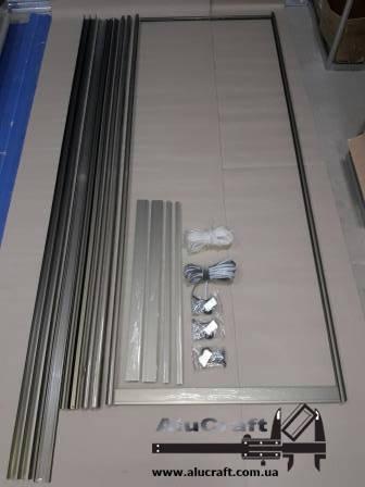 Двери для шкафа купе - комбинированные 4 фасада, фото 2