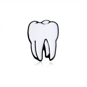 Брошь пин значок анатомический зуб