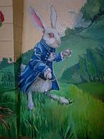 Роспись стен детской комнаты, фреска
