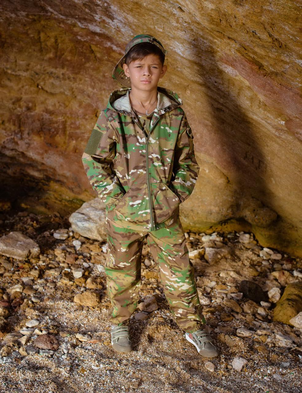 Детский камуфляжный костюм для мальчиков Лесоход цвет Мультикам оригинал