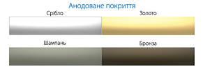 Плинтус алюминиевый 40мм / анод L-3.0 мп, фото 3