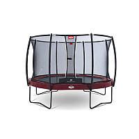 Батут Berg Elite +Regular Red 430 см + Safety Net T-Series 430 см арт. 37.14.81.00