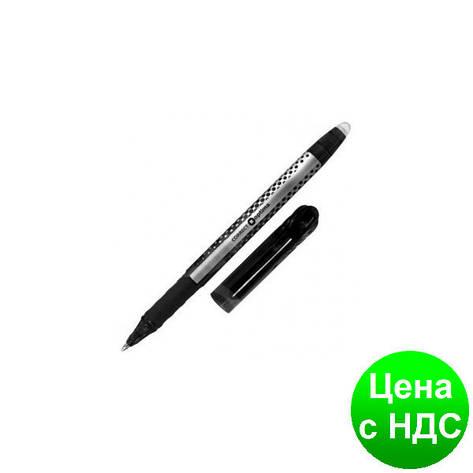 Ручка шариковая пиши-стирай OPTIMA CORRECT 0,5 мм, пишет черным O15338-01, фото 2