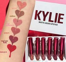 Набор матовых помадок Kylie valentines edition