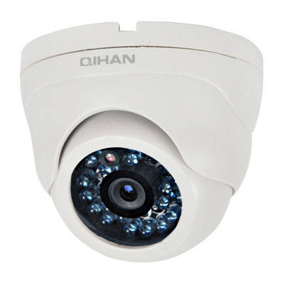 Внутренняя купольная аналоговая камера видеонаблюдения QIHAN QH-504C-4, фото 2