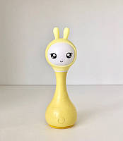 Іграшка-нічник Smarty Зайчик Alilo R1 жовтий