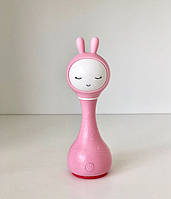 Іграшка-нічник Smarty Зайчик Alilo R1 рожевий, фото 1