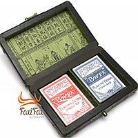 Шкатулка с игральными картами Antic