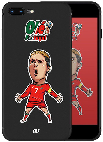 Чехол для Apple iPhone 7 iPhone 8 Ronaldo+подарок стильный ремешок