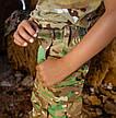 Детский военный костюм для мальчиков Киборг камуфляж Мультикам оригинал, фото 4
